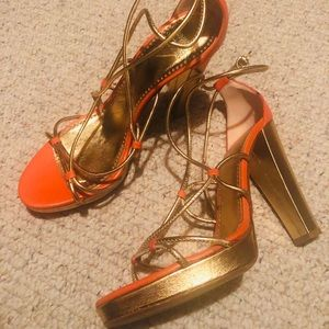 Moschino high heels size 7.5